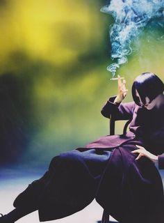 I Dream of a World of Couture.  Yohji yamamoto
