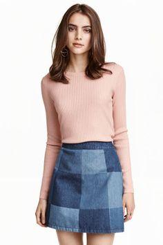 Pulover tricotat reiat | H&M
