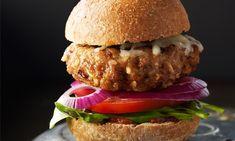 Burgers au poulet et mozzarella | Le Poulet du Québec