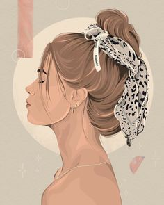 Woman Illustration, Portrait Illustration, Digital Illustration, Doodle Drawing, Trill Art, Line Art Design, Digital Art Girl, Art Mural, Grafik Design