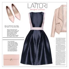 """LATTORI dress"" by water-polo ❤ liked on Polyvore featuring Lattori, Zizzi, Alexander McQueen, women's clothing, women, female, woman, misses, juniors and dress"