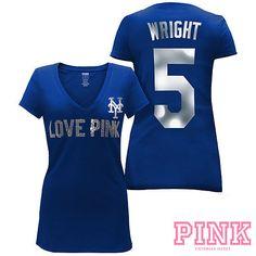 Los Angeles Dodgers Victoria s Secret PINK® Player tee I love kemp! cb30b597c