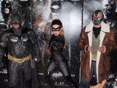 Dc Comics: Batman. Event:  The Dark Knight Rise Premier in Newark 2012.  Characters: Batman - , Catwoman By  Kimberly Moore & Bane.