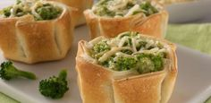 La Salteña   Recetas   Canastitas de Brócoli