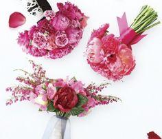 more pink bouquet ideas