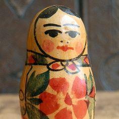 vintage RUSSIAN matroshka doll... Dec 04 by CoolVintage on Etsy, $7.50