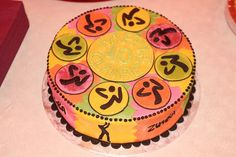 Zumba Birthday Cake cakepins.com