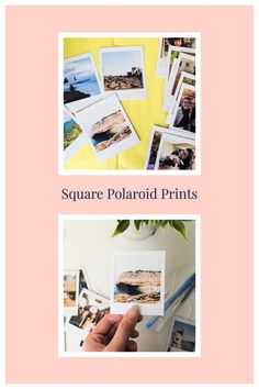Custom square polaroids printed from your own digital photos that you can frame for your desk, tuck inside your phone case, or mail to surprise a friend! #scrapbookphoto #scrapbooking #scrapbookphotos #polaroidwall #dormroom #dormdecor #photodecor #memory #memorykeeping #memorykeeper #junkjournal #polaroidpicture #polaroidphoto #photogifts #photogift #surprisegift #valentinesgift #memorygifts #giftidea Polaroid Photo Album, Polaroid Wall, Polaroid Pictures, Polaroids, Instax Film, Creative Wall Decor, Photo Wall Decor, Memory Wall, Just The Way