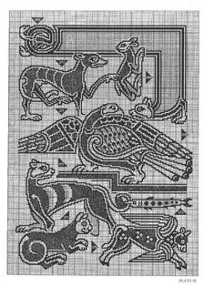 Gallery.ru / Фото #62 - Celtic Charted Designs - thabiti. Celtic creatures.