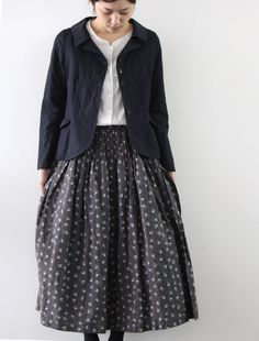 [Envelope Online Shop]Skirt mesange