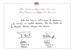 Christmas greeting cards from king juan carlos and queen sofia of 2015 christmas card for spains royal family 1272015 m4hsunfo
