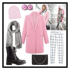 """""""Untitled #27"""" by aleksaroyus on Polyvore featuring Chanel, MANGO and Charlotte Russe"""