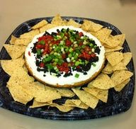 Yummy Mexican Cheesecake Appetizer | BigOven #Home