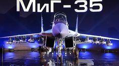 МИГ - 35. Новый самолет России. New MIG - 35. New Russian aircraft.