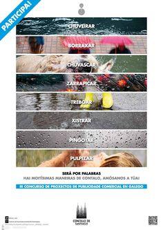 [Departamento de Lingua Galega do Concello de Santiago de Compostela, 2015] Dublin, Pageants, Advertising, Nail, Santiago De Compostela, Poster