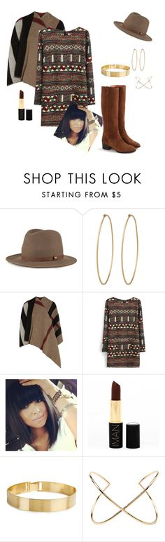 """""""bloop"""" by blushford ❤ liked on Polyvore featuring rag & bone, Social Anarchy, Burberry, Iman, Lele Sadoughi, Forever 21 and J.Crew"""