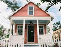 katrina cottages for sale Gulfport Mississippi, Ocean Springs, Shed Homes, Model Homes, Fixer Upper, Cottages, Tiny House, Small Homes, Architecture