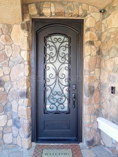 iron door sample 21 image   Front Yard Design Idea\'s   Pinterest ...