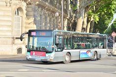 RATP ligne 94 man lion city