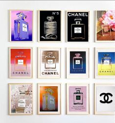 "Chanel No. 5 on Parade - from the classic to the new....Andy Warhol to Chanel Prints made popular by the hit show ""The Block"""