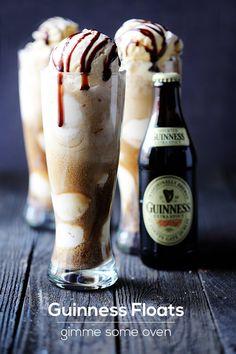 Guinness Floats | gimmesomeoven.com