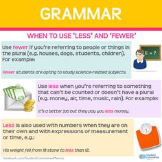 Grammar: 'Less' or 'Fewer'?