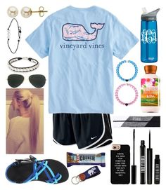 """""""Set 3"""" by xo-arissa-xo ❤ liked on Polyvore featuring NIKE, Vineyard Vines, Chaco, Everest, Victoria's Secret, CamelBak, Ray-Ban, NOVICA, Lord & Taylor and Lord & Berry"""