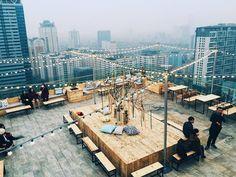Trill Rooftop Cafe Hanoi Vietnam