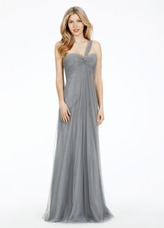 Bridesmaids and Special Occasion Dresses by Alvina Maids - Style AV9486 for you to wear in mine in pewter or ink!
