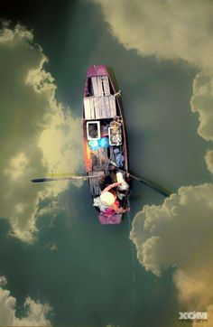 Boating on Clouds, Hanoi, Vietnam