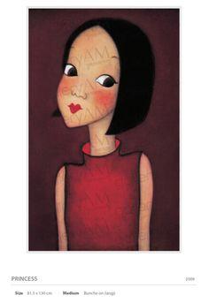 陆心媛 Fated To Love You, Face Art, Disney Characters, Fictional Characters, Portraits, Hand Painted, Draw, Illustrations, Disney Princess