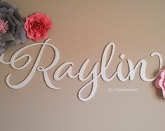 Baby Name Signs for Nursery Girl Boy Wall Letters for Wall Decor Alphabeticals Custom Wooden Name Letters Over Crib Wood Wall Name Avery - Etsy :: Your place to buy and sell all things handmade You are in the right place about baby names a - Country Baby Names, Southern Baby Names, Cute Baby Names, Unique Baby Names, New Baby Names, Wooden Name Letters, Letter Wall, Wooden Names, Wooden Art