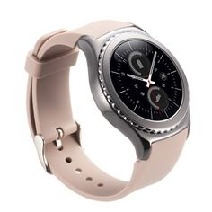 Gear S2 Classic Band  Valkit Silicone Smart Watch Band Soft Replacement Bracelet Wristband Strap for Gear S2 Classic Sport Style Bands for Samsung Gear S2 Classic SMR732R7320R735  Beige *** You can find out more details at the link of the image. (It is an affiliate link and I receive commission through sales)