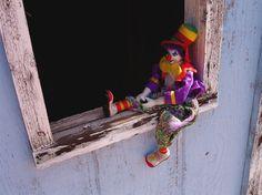 omdat ik bang ben voor clowns