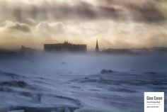 Tempête de vent sur Rimouski