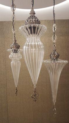 Lámparas de colgar de vidrio IMPORTADAS DE TURQUIA www.revestirsa.com