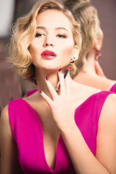 Jennifer Lawrence para a Dior.
