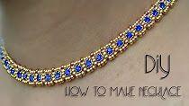(113) YouTube Beaded Collar, Beaded Necklace Patterns, Jewelry Patterns, Beaded Bracelets, Beaded Earrings, Necklace Tutorial, Diy Necklace, Bead Jewellery, Beaded Jewelry