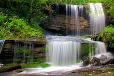 Elk River Falls, North Carolina Waterfall