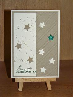 Kreativreport: Weihnachtskarte No. 2