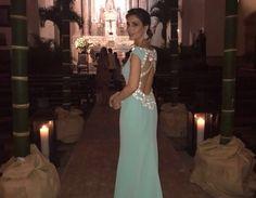 Paloma Cuevas chose Rosa Clará for her guest look