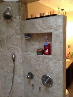 Walk in Tile Shower Sanctuary - traditional - Bathroom - Other Metro - M's Kitchen & Bath Studio