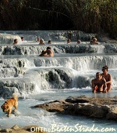 Terme di Saturnia, Tuscany, Italy - Hľadať Googlom