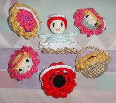 Flower Child 2 sm Grandma Perkins Magical Flower Child Crochet Pattern
