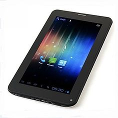 7 inch + 512 ROM + 6 colours +In Stock +faster shipping Android 4, Wifi, Bluetooth, Phone, Stuff To Buy, Colours, Blue Tooth, Telephone