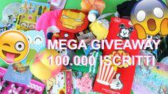 MEGA GIVEAWAY 100000 ISCRITT #NancyGiveaway100k