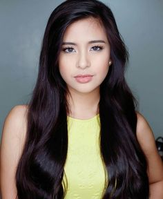 How to Achieve Long, Luscious Hair According to Gabbi Garcia's Stylist Brunette Beauty, Hair Beauty, Gabbi Garcia, Filipina Beauty, Luscious Hair, Asian Hair, Easy Hairstyles, About Hair, Make Up