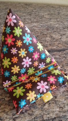 """Brown n' Floral Gadgetbagz! Great pillow for your smart phone or mini tablet! Shop for it on Etsy """"Aunt Kimmy's Creations"""""""