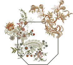 Baroque Pattern, Pattern Art, Zentangle, Boarder Designs, Baroque Decor, Paisley, Embroidery Motifs, Design Seeds, Motif Floral