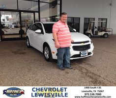 https://flic.kr/p/ECdRMe | Happy Anniversary to Jon  from Henry Boyd at Huffines Chevrolet Lewisville | deliverymaxx.com/DealerReviews.aspx?DealerCode=UBM1